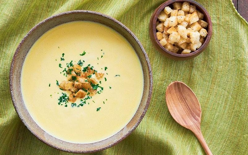 """Soup khoai tây phô mai hương vị """"tuyệt cú mèo"""" ai cũng phải mê"""