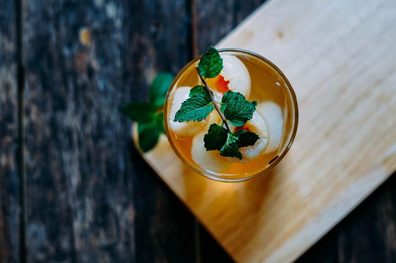 Trà vải dưa hấu - Đồ uống mùa hè mát lạnh