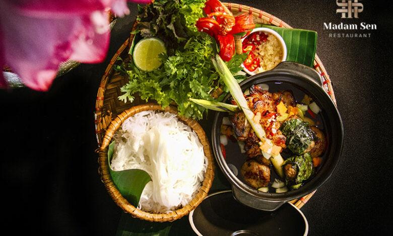 Bún chả Madam Sen - Lưu giữ hương vị Hà Nội truyền thống