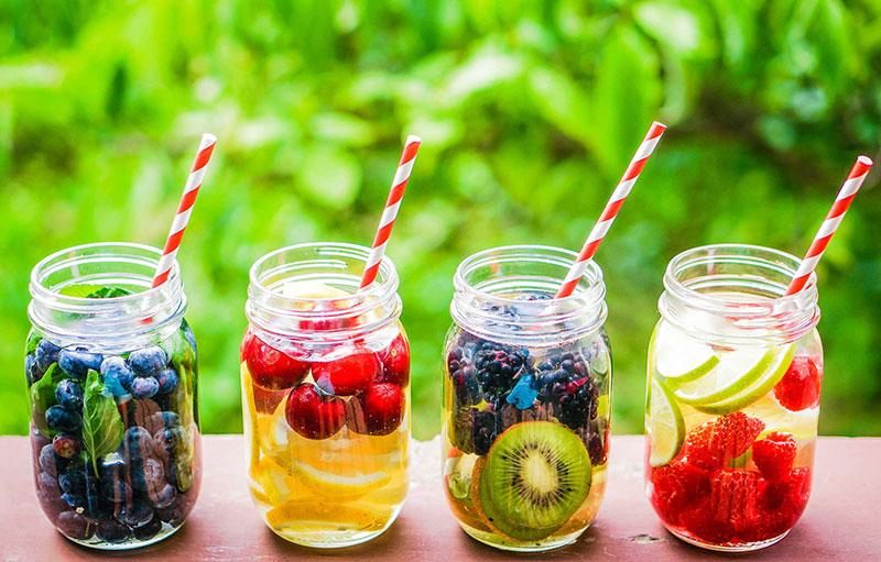 Nước để hydrat hóa và duy trì cân bằng